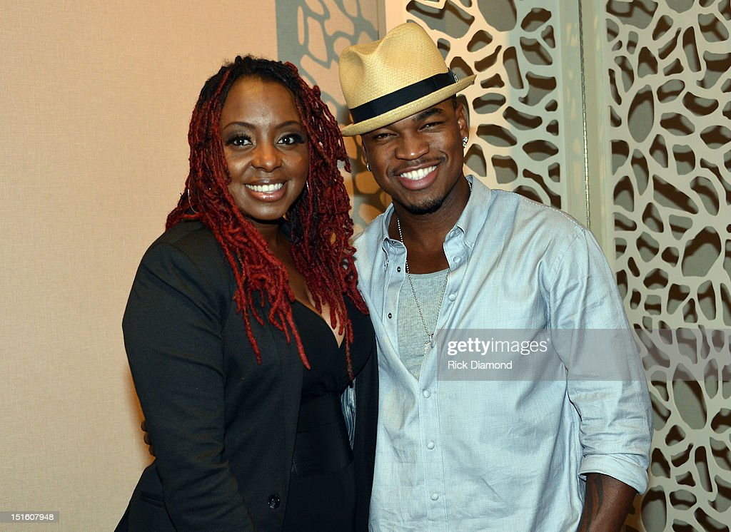 Recording Artist <a gi-track='captionPersonalityLinkClicked' href=/galleries/search?phrase=Ledisi&family=editorial&specificpeople=782540 ng-click='$event.stopPropagation()'>Ledisi</a> and Singer/Songwriter Shaffer 'NE-YO' Smith attend GRAMMY GPS - A Road Map For Today's Music Pro at W Atlanta Buckhead on September 8, 2012 in Atlanta, Georgia.