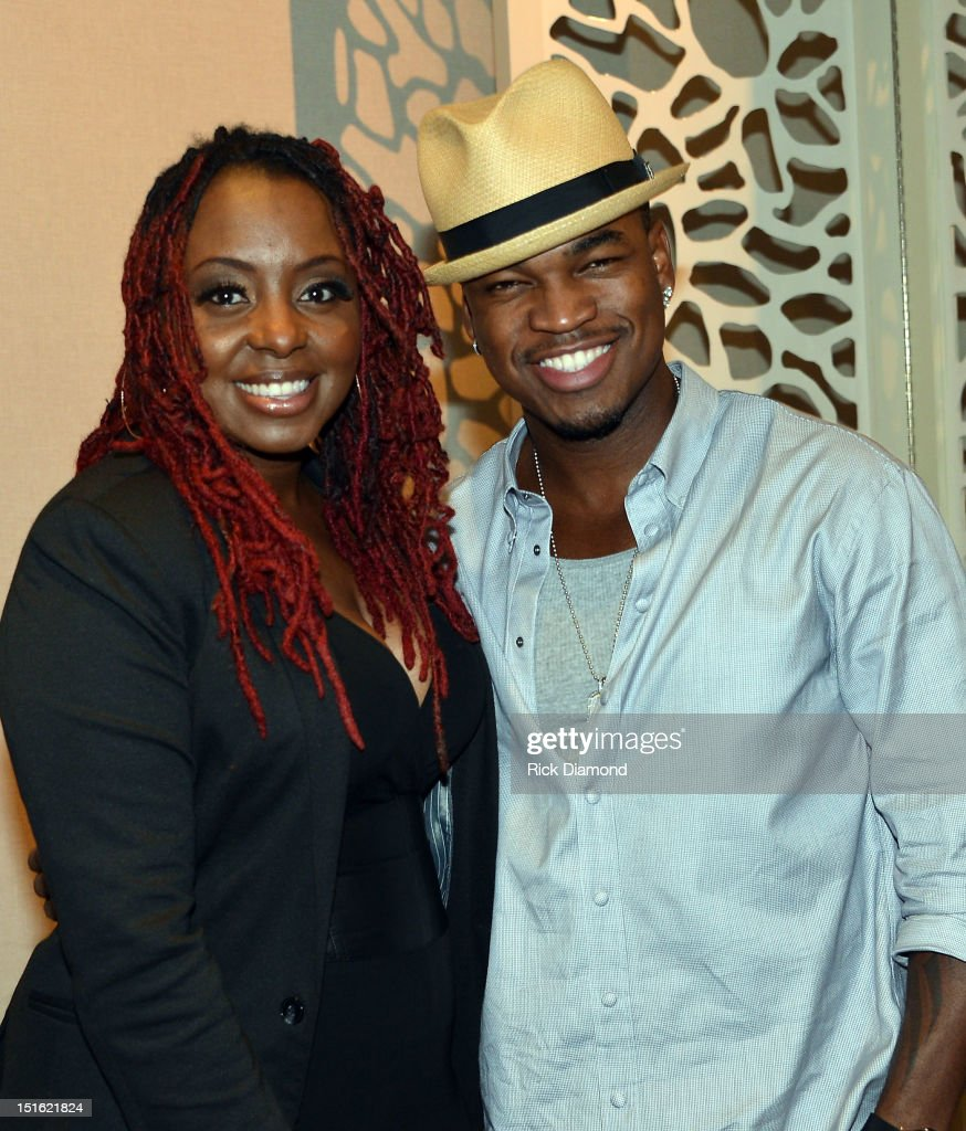 Recording Artist Ledisi and Singer/Songwriter Shaffer 'NE-YO' Smith attend GRAMMY GPS - A Road Map For Today's Music Pro at W Atlanta Buckhead on September 8, 2012 in Atlanta, Georgia.
