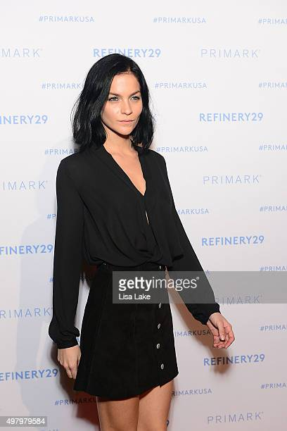 Recording Artist Leigh Lezark of The Misshapes attends The Keke Palmer Refinery29 Host Club Primania Event at Skybox Event Center on November 19 2015...