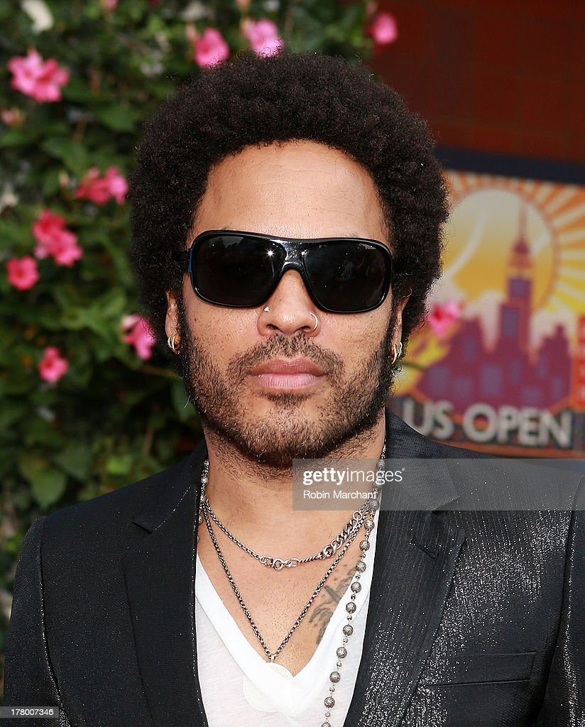 Recording Artist <a gi-track='captionPersonalityLinkClicked' href=/galleries/search?phrase=Lenny+Kravitz&family=editorial&specificpeople=171613 ng-click='$event.stopPropagation()'>Lenny Kravitz</a> attends the 13th Annual USTA Serves Opening Night Gala at USTA Billie Jean King National Tennis Center on August 26, 2013 in New York City.