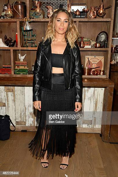 Recording artist Leona Lewis attends the Leona Lewis 'I Am' Album Listening Party at Elyx House on July 28 2015 in New York City