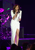 Recording artist Leslie Grace performs onstage during the 2015 Latin GRAMMY Person of the Year honoring Roberto Carlos at the Mandalay Bay Events...