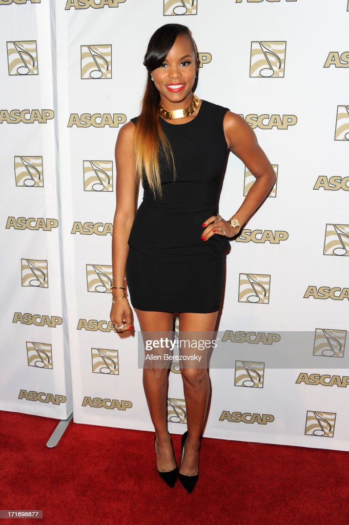 Recording artist <a gi-track='captionPersonalityLinkClicked' href=/galleries/search?phrase=LeToya+Luckett&family=editorial&specificpeople=756270 ng-click='$event.stopPropagation()'>LeToya Luckett</a> arrives at ASCAP's 26th Annual Rhythm & Soul Music Awards at The Beverly Hilton Hotel on June 27, 2013 in Beverly Hills, California.