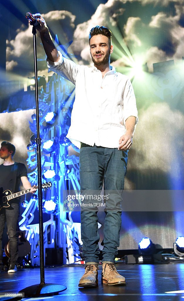 Recording artist Liam Payne of music group One Direction performs onstage during 1027 KIIS FM's Jingle Ball 2015 Presented by Capital One at STAPLES...