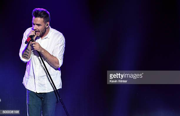 Recording artist Liam Payne of One Direction performs onstage during 1027 KIIS FM's Jingle Ball 2015 Presented by Capital One at STAPLES CENTER on...