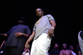 Recording Artist Lil Boosie performs during his 'Touchdown 2 Cause Hell' Tour at Nashville Municipal Auditorium on April 11 2014 in Nashville...
