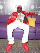 Recording artist Lil Boosie visits 106 Park at BET studio on April 24 2014 in New York City