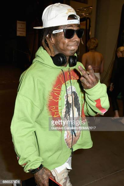 Recording artist Lil Wayne attends the 2017 Billboard Music Awards at TMobile Arena on May 21 2017 in Las Vegas Nevada