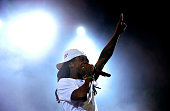 Recording artist Lil Wayne performs onstage during day 1 of the 2016 Coachella Valley Music Arts Festival Weekend 2 at the Empire Polo Club on April...