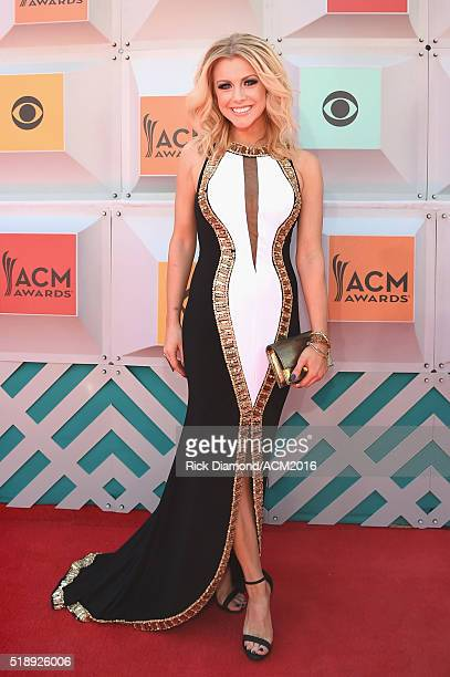 Recording artist Lindsay Ell attends the 51st Academy of Country Music Awards at MGM Grand Garden Arena on April 3 2016 in Las Vegas Nevada