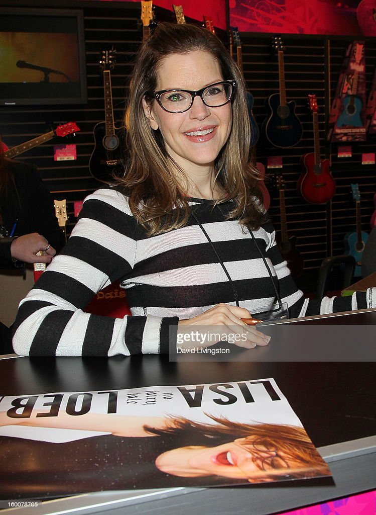 Recording artist Lisa Loeb attends the 2013 NAMM Show - Day 2 at the Anaheim Convention Center on January 25, 2013 in Anaheim, California.