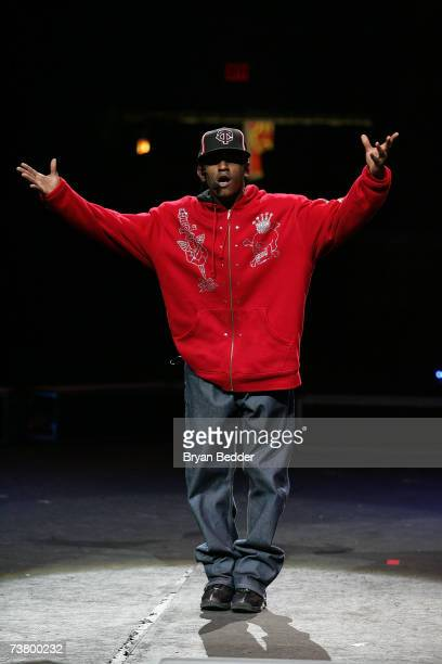 Recording artist Lloyd performs live during Ringling Bros and Barnum Bailey Circus at Madison Square Garden on April 3 2007 in New York City