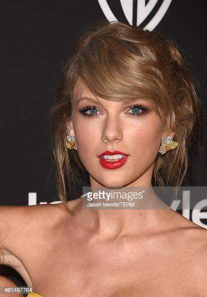 Recording artist Lorde and recording artist Taylor Swift attend the 2015 InStyle And Warner Bros 72nd Annual Golden Globe Awards PostParty at The...