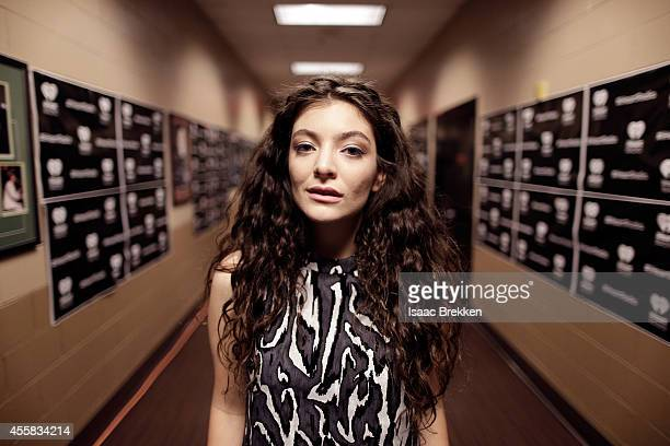 Recording artist Lorde attends the 2014 iHeartRadio Music Festival at the MGM Grand Garden Arena on September 20 2014 in Las Vegas Nevada