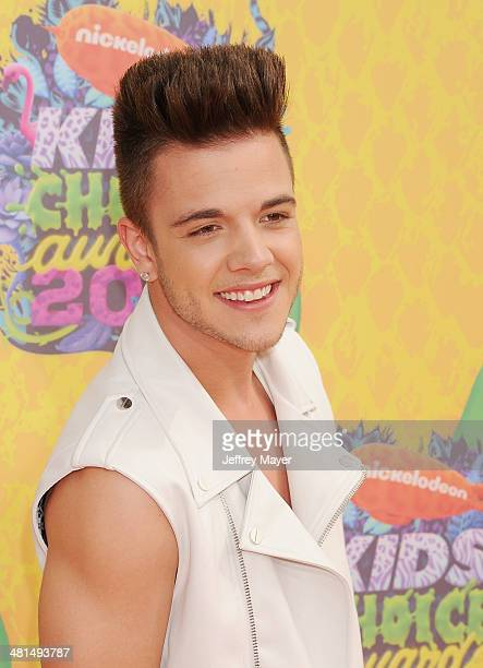 Recording artist Luca Hanni attends Nickelodeon's 27th Annual Kids' Choice Awards held at USC Galen Center on March 29 2014 in Los Angeles California