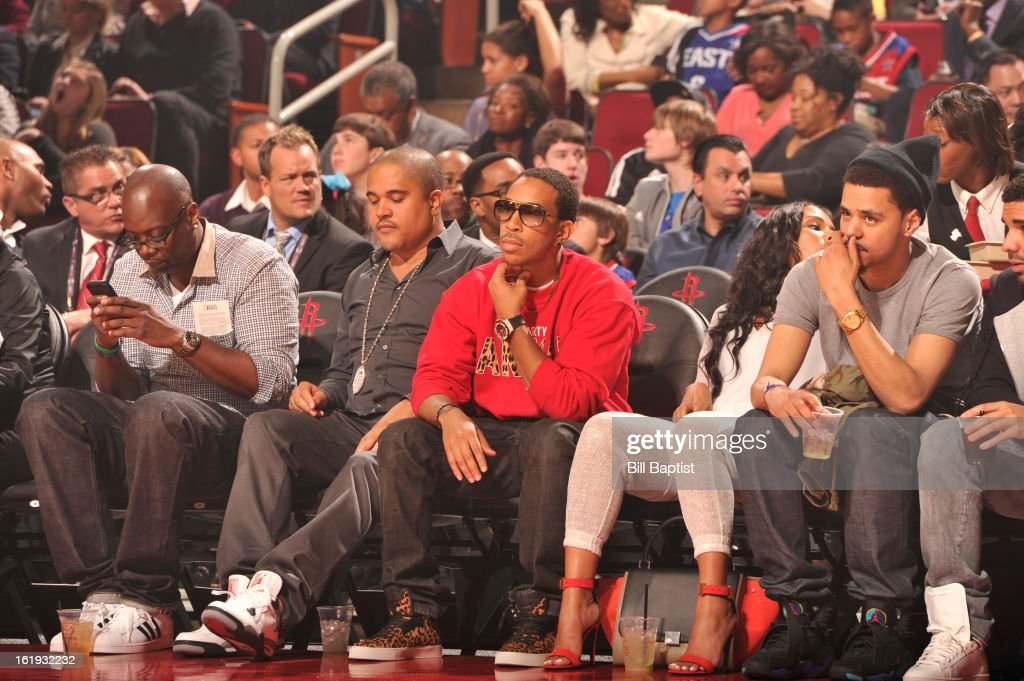 Recording Artist, Ludacris, attends the 2013 NBA All-Star Game on February 17, 2013 at Toyota Center in Houston, Texas.
