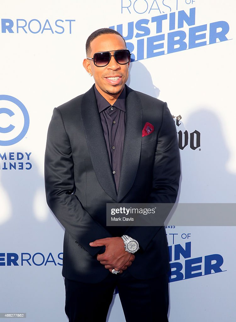 Recording artist <a gi-track='captionPersonalityLinkClicked' href=/galleries/search?phrase=Ludacris&family=editorial&specificpeople=203034 ng-click='$event.stopPropagation()'>Ludacris</a> attends The Comedy Central Roast of Justin Bieber at Sony Pictures Studios on March 14, 2015 in Los Angeles, California.