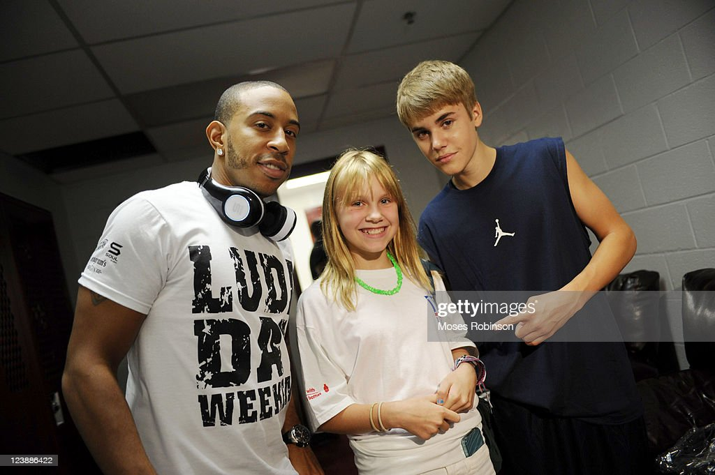 Recording Artist Ludacris, Storey Mason and recording artist Justin Bieber attend the 2011 LudaDay Weekend on September 4, 2011 in Atlanta, Georgia.