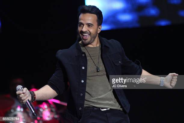 Recording artist Luis Fonsi performs onstage during L Festival 2017 at Pico Rivera Sports Arena on March 18 2017 in Pico Rivera California
