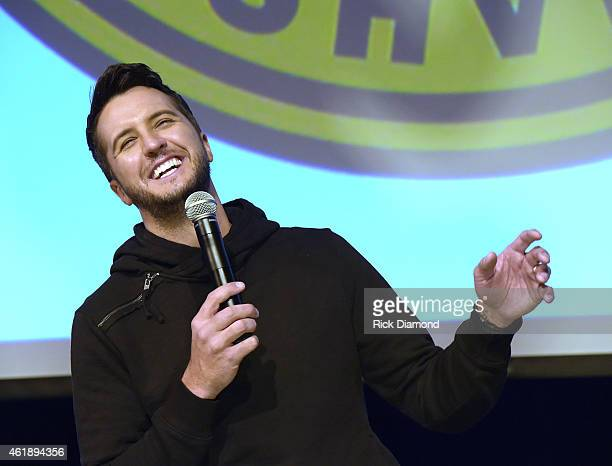 Recording Artist Luke Bryan announces 'Kick Up the Dust' 2015 World tour and Country Music Hall of Fame and Museum Exhibit at the Country Music Hall...