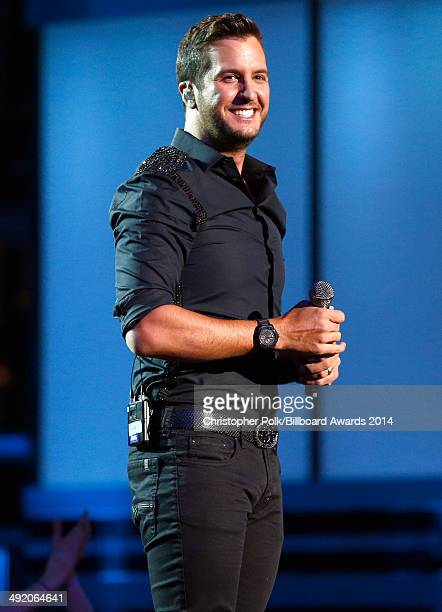 Recording artist Luke Bryan performs onstage during the 2014 Billboard Music Awards at the MGM Grand Garden Arena on May 18 2014 in Las Vegas Nevada
