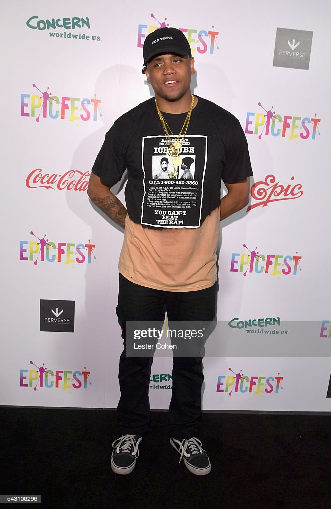 Recording artist Mack Wilds attends EpicFest 2016 hosted by L.A. Reid and Epic Records at Sony Studios on June 25, 2016 in Los Angeles, California.