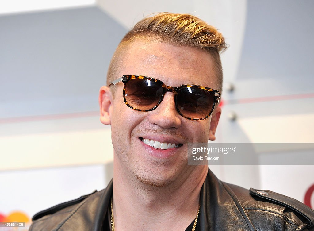 Recording artist Macklemore attends the 2014 iHeartRadio Music Festival at the MGM Grand Garden Arena on September 20 2014 in Las Vegas Nevada