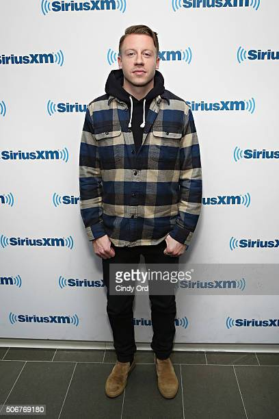 Recording artist Macklemore visits the SiriusXM Studios on January 25 2016 in New York City