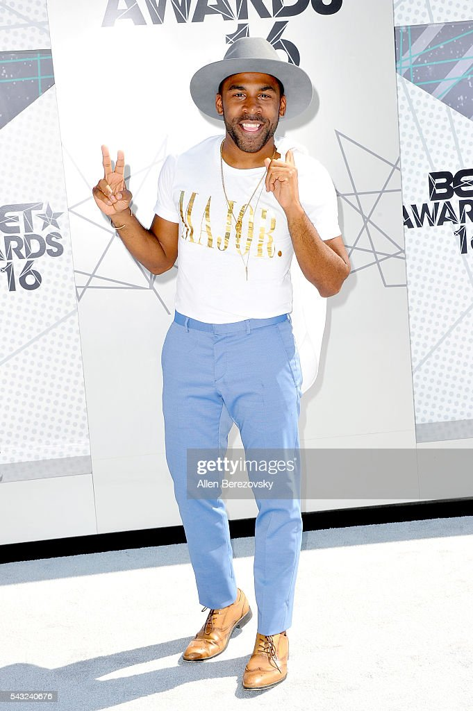 Recording artist Major attends the 2016 BET Awards at Microsoft Theater on June 26, 2016 in Los Angeles, California.