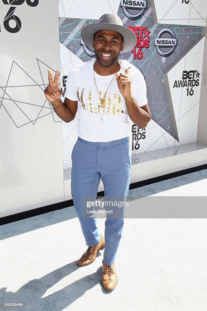 Recording artist MAJOR. attends the Make A Wish VIP Experience at the 2016 BET Awards on June 26, 2016 in Los Angeles, California.
