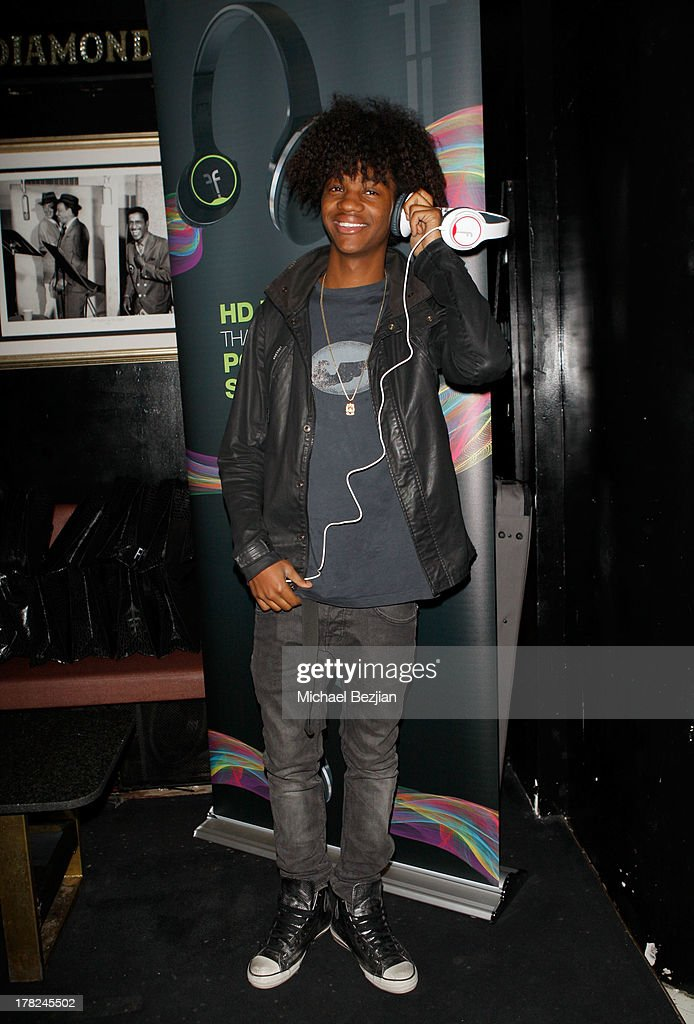 Recording artist Major Myjah attends the Sean Kingston 'Back 2 Life' Listening Session Presented By Flips Audio at Bootsy Bellows on August 27, 2013 in West Hollywood, California.