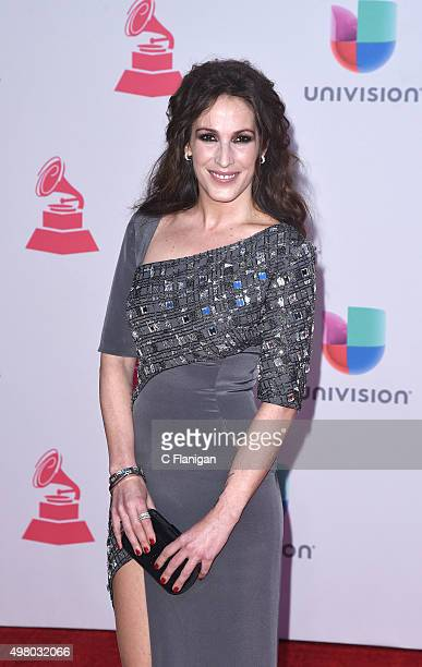 Recording artist Malu attends the 16th Annual Latin GRAMMY Awards at the MGM Grand Garden Arena on November 19 2015 in Las Vegas Nevada