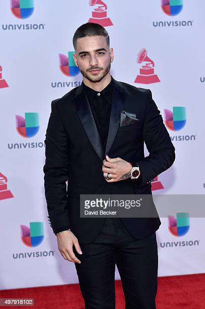 Recording artist Maluma attends the 16th Latin GRAMMY Awards at the MGM Grand Garden Arena on November 19 2015 in Las Vegas Nevada