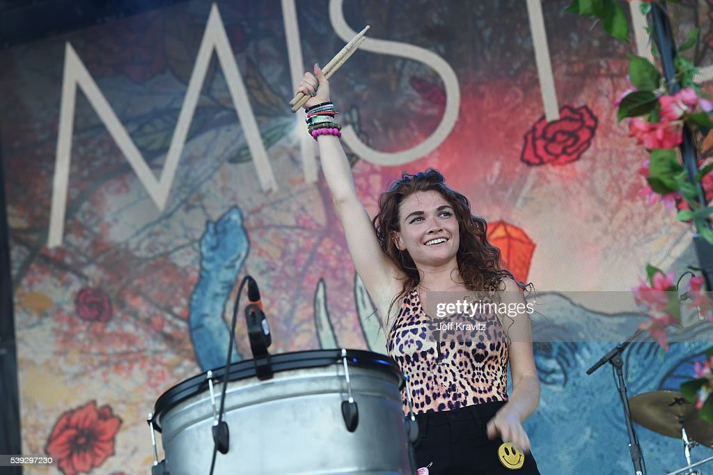 Recording artist Mandy Lee of Misterwives performs onstage at What Stage during Day 2 of the 2016 Bonnaroo Arts And Music Festival on June 9 2016 in...