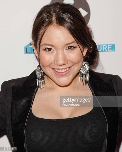 Recording Artist Manika attends the 'Lights Camera Cure 2012 Hollywood DanceAThon' at Avalon on January 29 2012 in Hollywood California