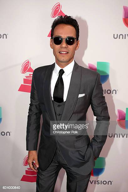 Recording artist Marc Anthony attends The 17th Annual Latin Grammy Awards at TMobile Arena on November 17 2016 in Las Vegas Nevada