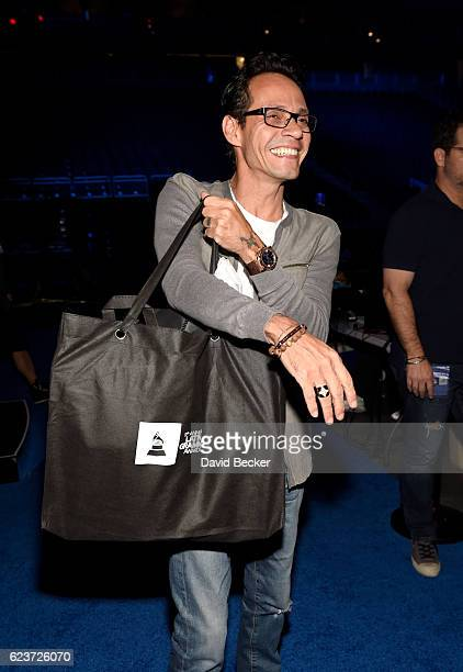 Recording artist Marc Anthony attends the gift lounge during the 17th annual Latin Grammy Awards at TMobile Arena on November 16 2016 in Las Vegas...