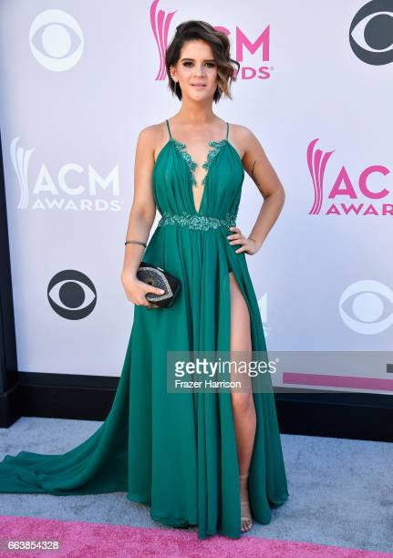 Recording artist Maren Morris attends the 52nd Academy Of Country Music Awards at Toshiba Plaza on April 2 2017 in Las Vegas Nevada