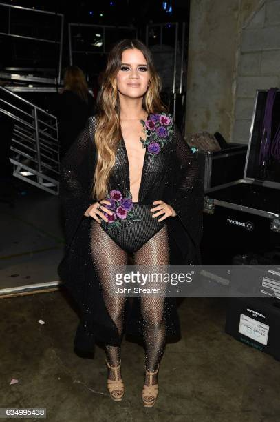 Recording artist Maren Morris attends The 59th GRAMMY Awards at STAPLES Center on February 12 2017 in Los Angeles California