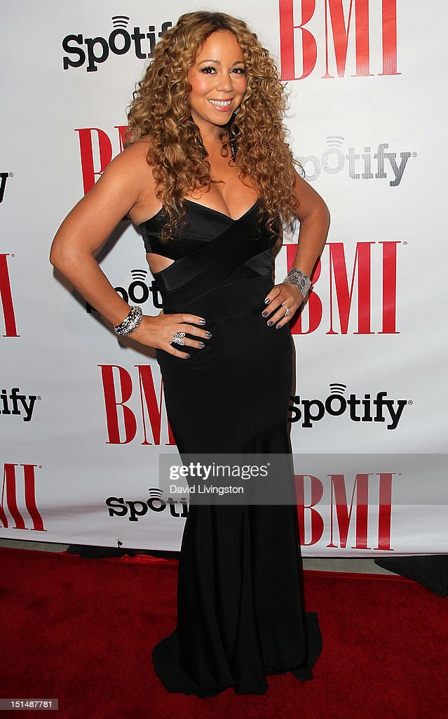 Recording artist <a gi-track='captionPersonalityLinkClicked' href=/galleries/search?phrase=Mariah+Carey&family=editorial&specificpeople=171647 ng-click='$event.stopPropagation()'>Mariah Carey</a> attends the 12th Annual BMI Urban Awards at the Saban Theatre on September 7, 2012 in Beverly Hills, California.