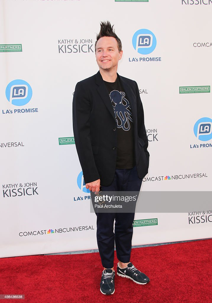 Recording Artist <a gi-track='captionPersonalityLinkClicked' href=/galleries/search?phrase=Mark+Hoppus&family=editorial&specificpeople=211529 ng-click='$event.stopPropagation()'>Mark Hoppus</a> attends the 2014 LA's Promise Gala at Universal Studios Hollywood on September 30, 2014 in Universal City, California.