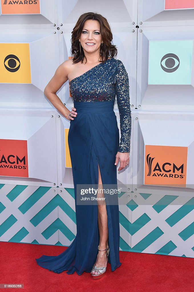 Recording artist Martina McBride attends the 51st Academy of Country Music Awards at MGM Grand Garden Arena on April 3 2016 in Las Vegas Nevada