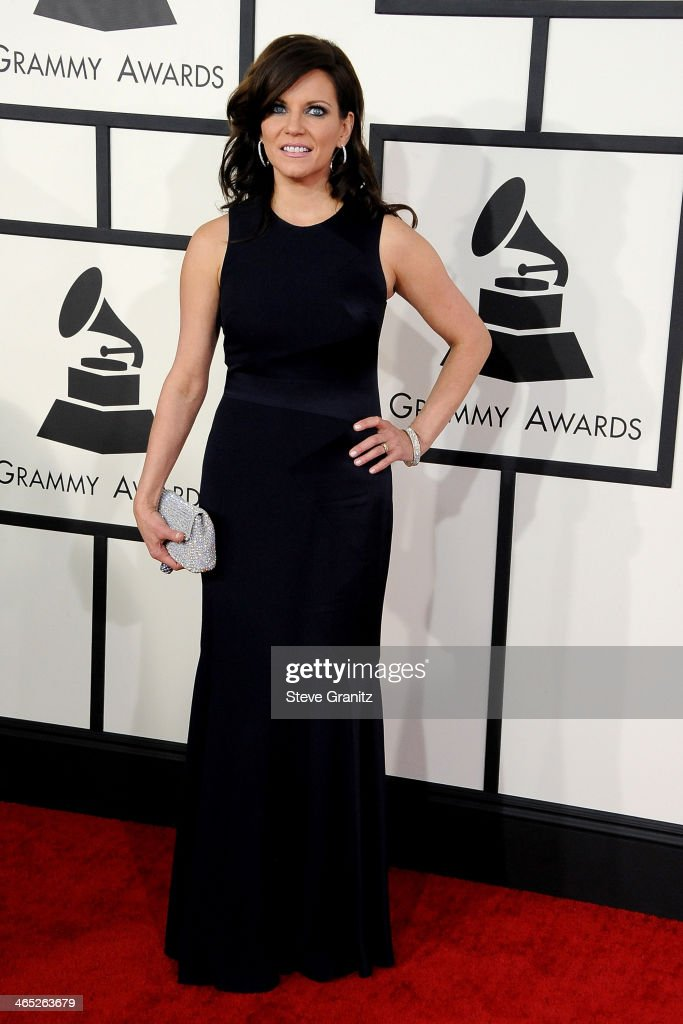Recording artist Martina McBride attends the 56th GRAMMY Awards at Staples Center on January 26, 2014 in Los Angeles, California.