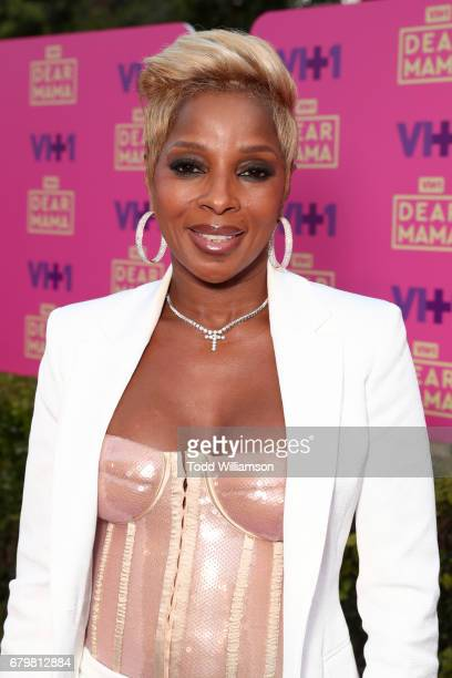 Recording artist Mary J Blige attends the VH1 'Dear Mama' taping on May 6 2017 in Los Angeles California