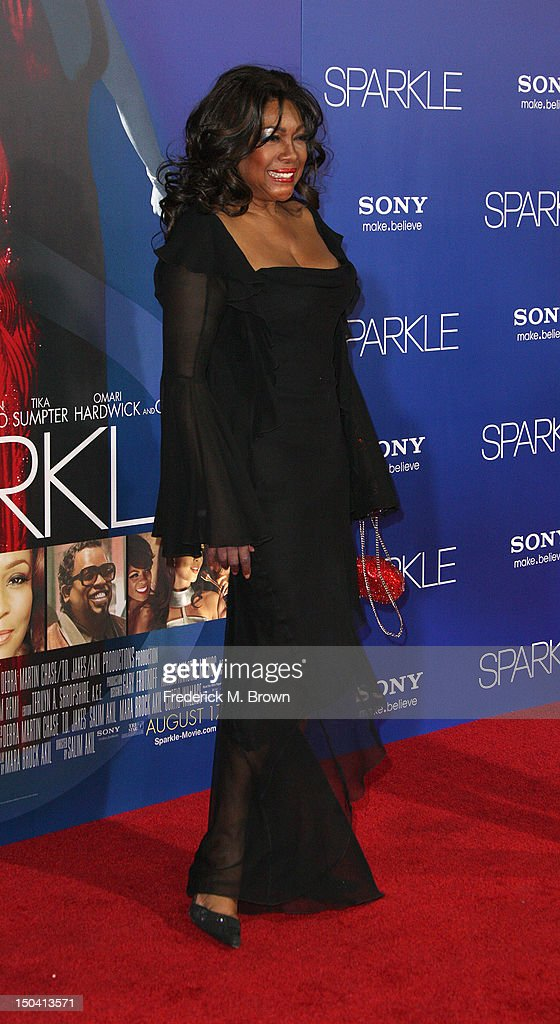 Recording artist Mary Wilson attends the Premiere Of Tri-Star Pictures' 'Sparkle' at Grauman's Chinese Theatre on August 16, 2012 in Hollywood, California.