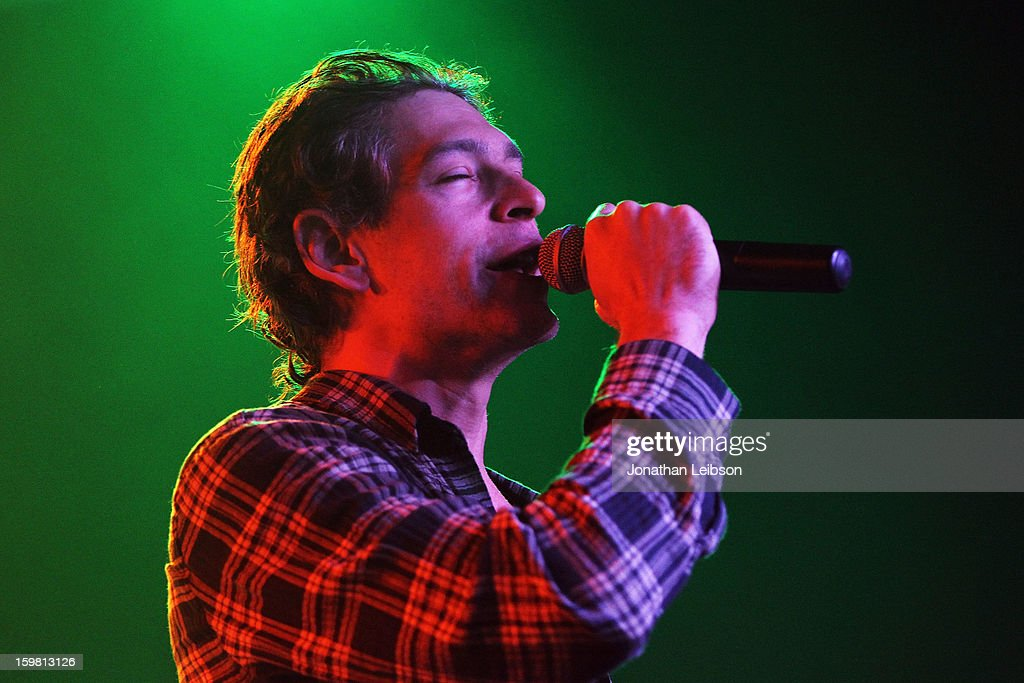 Recording Artist Matisyahu performs onstage at Star Bar on January 20, 2013 in Park City, Utah.