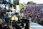 Recording artist Matt Maust and Cold War Kids perform onstage at KROQ Weenie Roast 2016 at Irvine Meadows Amphitheatre on May 14 2016 in Irvine...