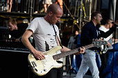 Recording artist Matt Maust of music group Cold War Kids performs onstage at KROQ Weenie Roast 2016 at Irvine Meadows Amphitheatre on May 14 2016 in...