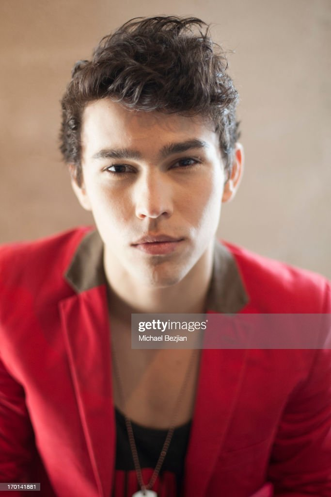 Recording artist Max Schneider attends Max Schneider visits What's Trending on June 7 2013 in Hollywood California