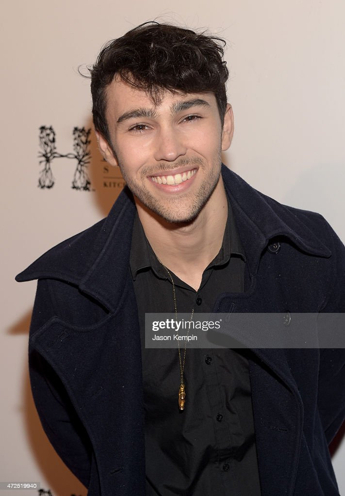 Recording artist Max Schneider attends the NYLON Young Hollywood Party presented by BCBGeneration at HYDE Sunset Kitchen Cocktails on May 7 2015 in...